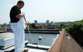 Liquid Plastics Decothane Waterproofing for Roofs Chelsea Flower Show