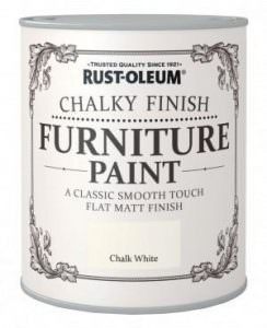 Rustoleum Chalky Furniture Paint from Promain