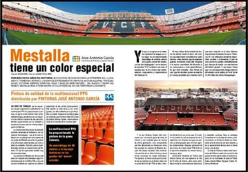 Mestalla Stadium Selemix Case Study