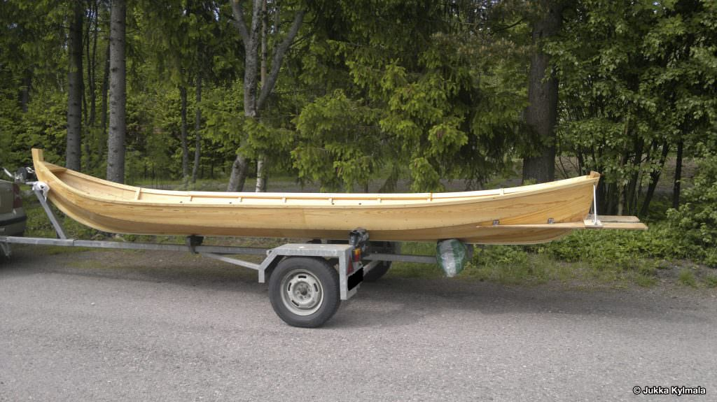 Finnish customer's river boat the envy of all his friends with D1 & D2