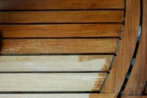 How to treat softwood decking