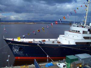 Owatrol products maintain the Royal Yacht Britannia