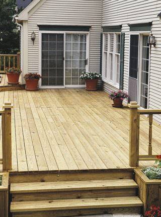 Protecting Your New Deck