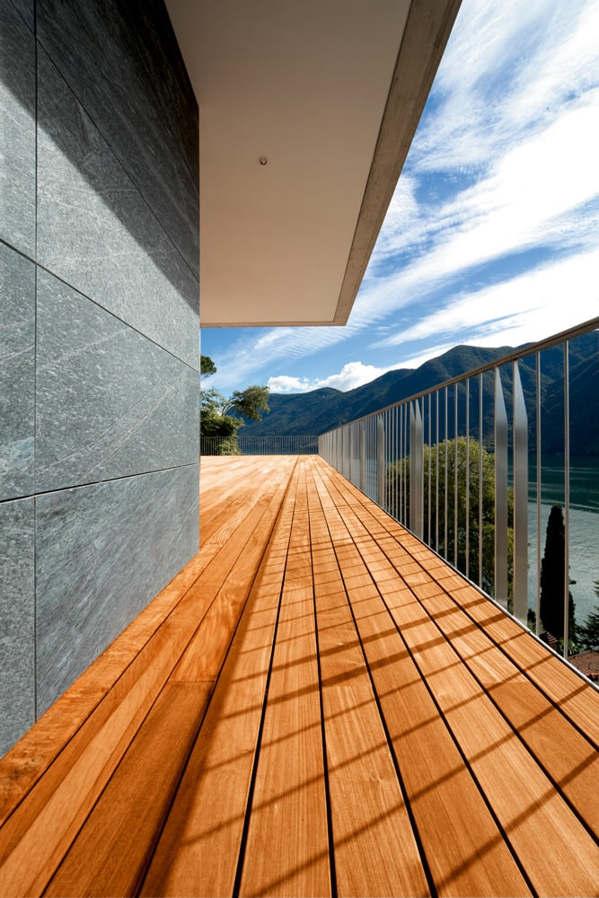 Natural Wood Decking