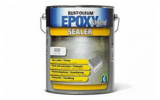 Rustoleum EpoxyShield Clear Sealer for Concrete