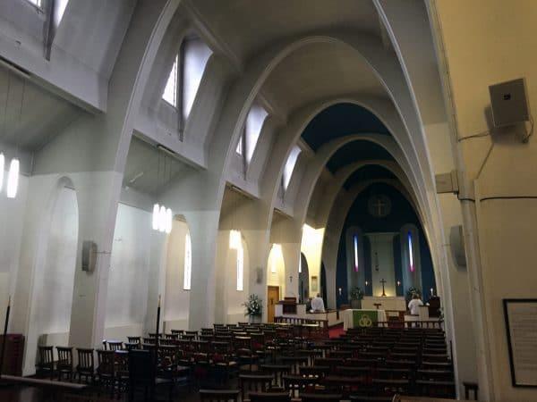Interior St Faiths Church