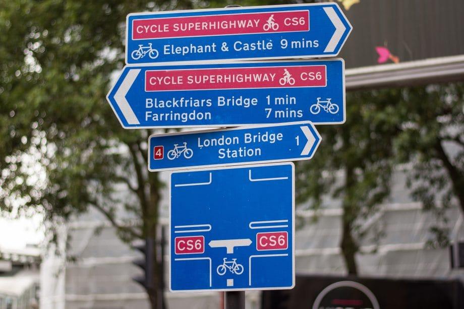 London Cycle Superhighways