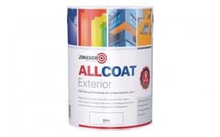 Paint uPVC Zinsser Allcoat Exterior