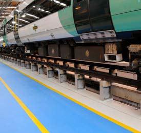 Anti Slip Paint Railway Inspection Pit