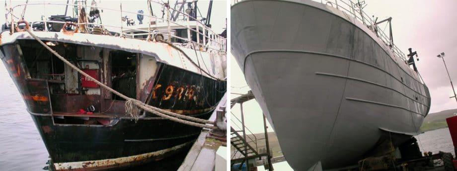 zinga boat hull