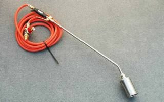 tHERMOPLASTIC GAS TORCH