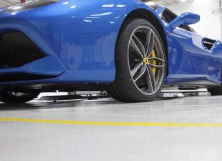 Garage Floor Paint Ferrari