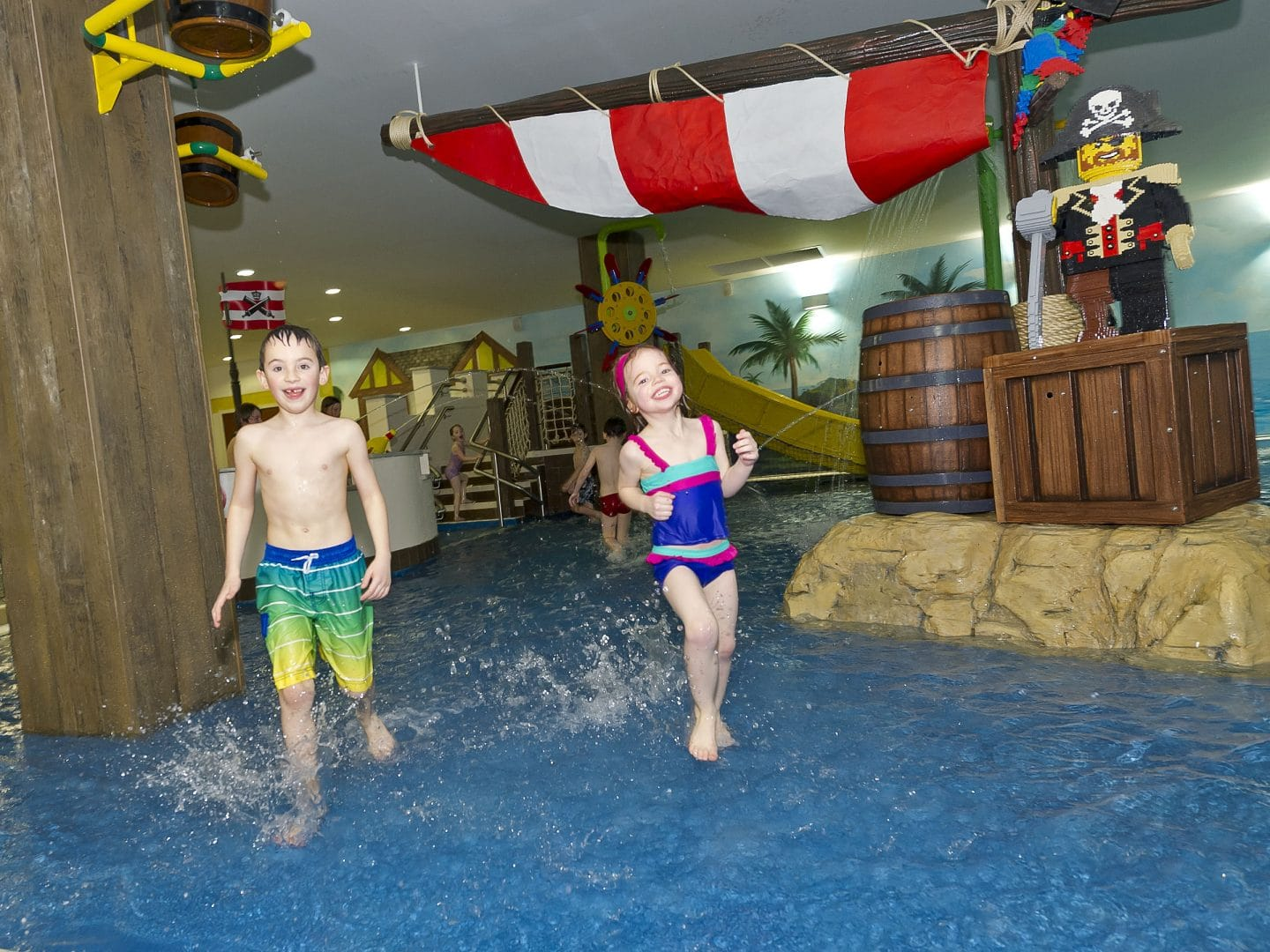 Lego Pirate Themed Splash Pool At The Legoland Windsor Resort Hotel Promain Resource Centre