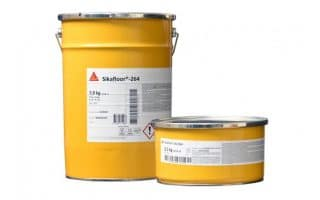 Sikafloor 264 garage floor paint
