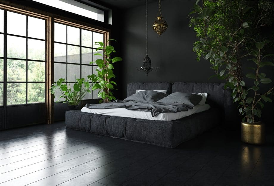 Black Floor Paint