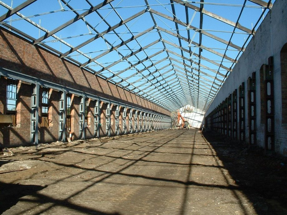 Royal Train Shed Cold Galvanizing