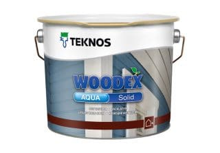 Woodex Aqua Solid for fences