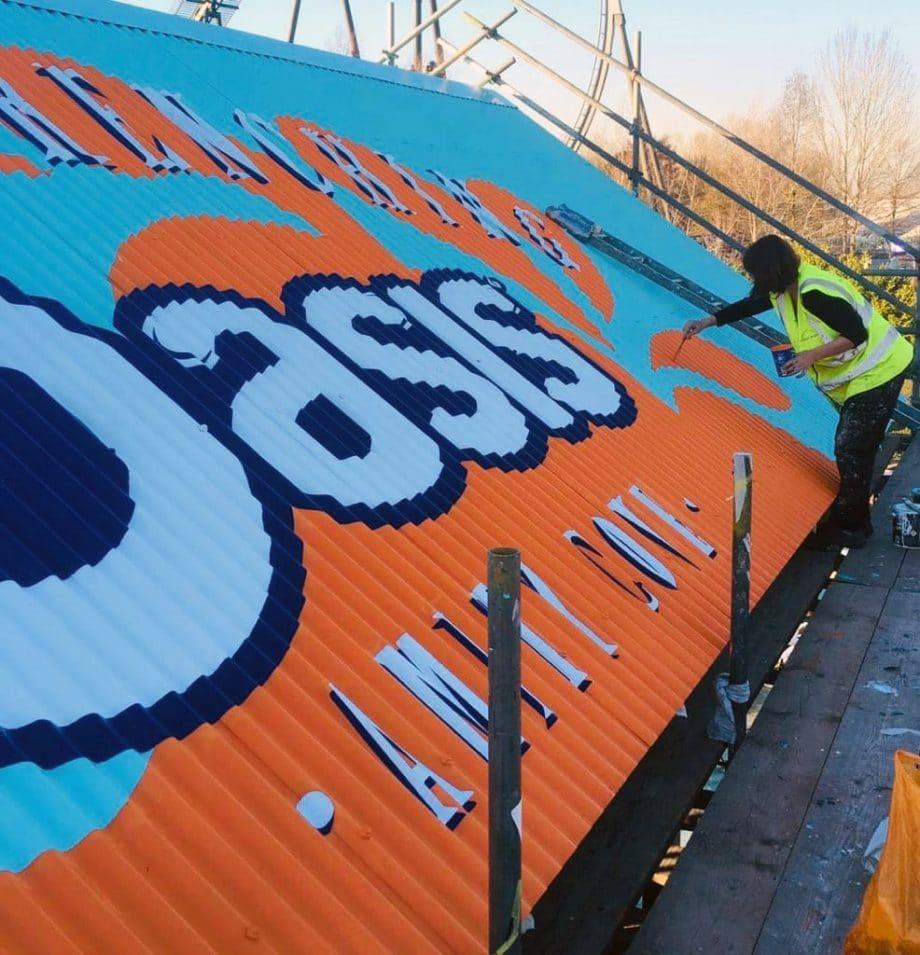 Oasis Paint Logo Roof Paint
