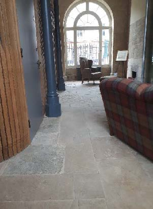 Brackley Town Hall Stone Sealer