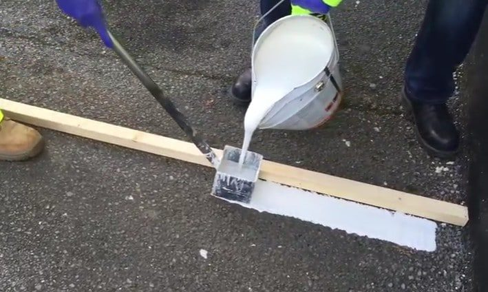 How to Mark Lines using MMA Line Marking Paint