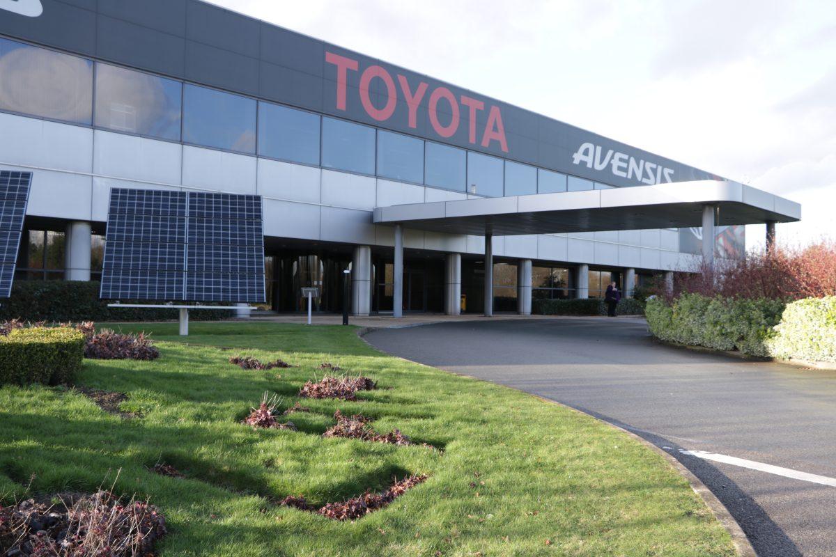 Toyota Burnaston, Paint