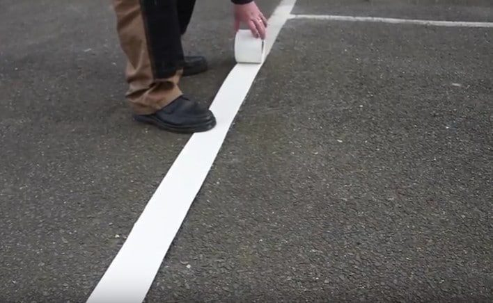 How to Mark Lines using Thermoplastic