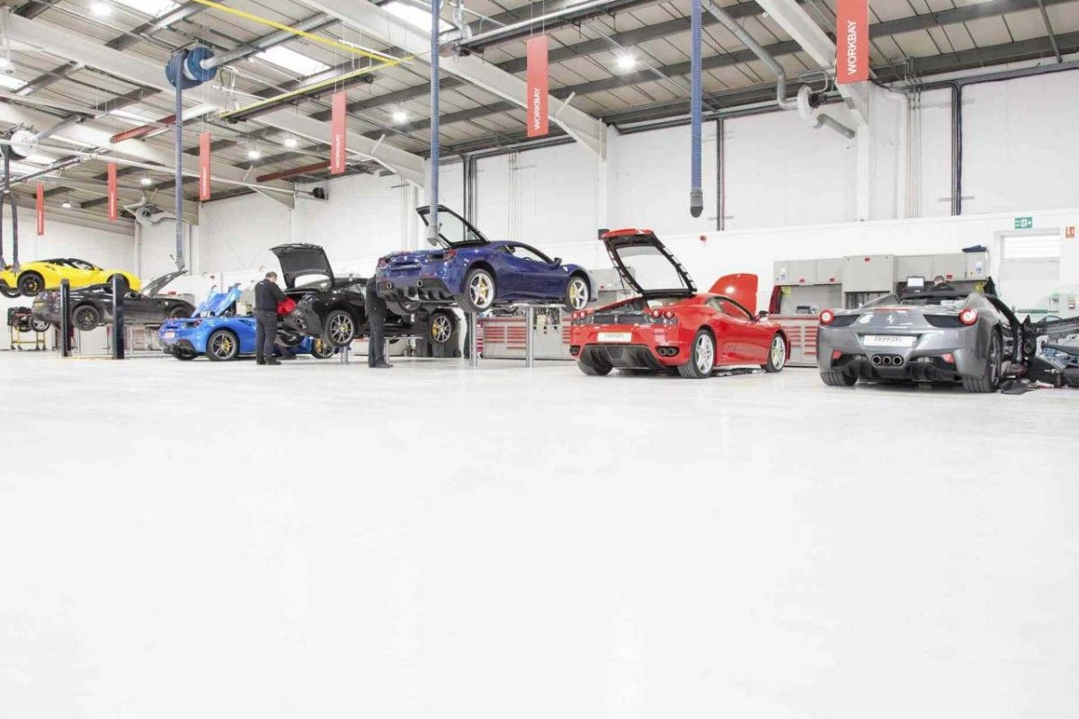 Ferrari Garage Floor Paint