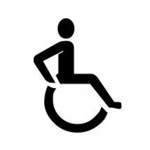 Disabled Stencil