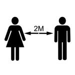 2 Metre Distance Marker