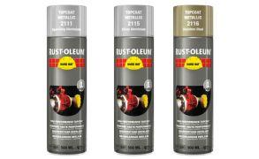 Rustoleum Hard Hat Metallic Topcoats 2111 2115 2116