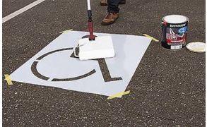 Centrecoat Industrial Road Stencils