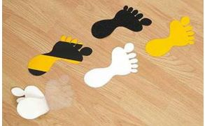 Centrecoat Anti-Slip Feet - Bare Foot Design