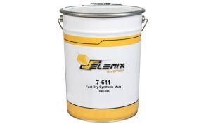 Selemix 7-611 1 Pack Fast Dry Synthetic Matt Topcoat