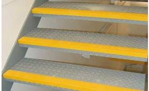 Centrecoat Anti-Slip Stair Nosing, 55 x 55mm