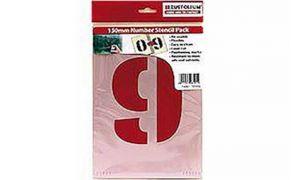 Rustoleum 0-9 Plastic Number Stencils