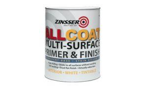 Zinsser AllCoat Solvent Based Multi Surface Primer and Finish