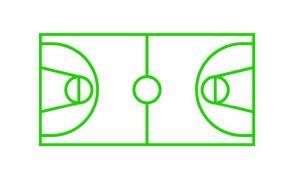 Centrecoat Thermoplastic Basketball Set