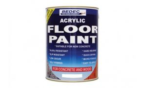 Bedec Acrylic Water Based Floor Paint