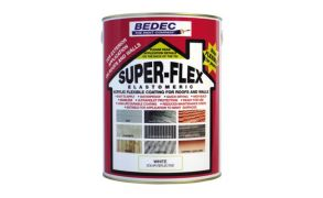 Bedec Superflex Elastomeric Coating for Roofs and Walls