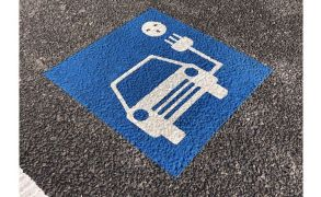Centrecoat Thermoplastic Electric Car Charging Logo