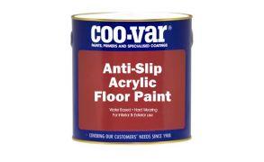 Coo-Var Anti Slip Acrylic Floor Paint
