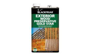 *Blackfriar Wood Preservative Gold Star