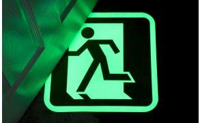 Centrecoat Glow In The Dark Floor Signs