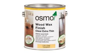Osmo Wood Wax Finish Extra Thin (1101 Clear Transparent)