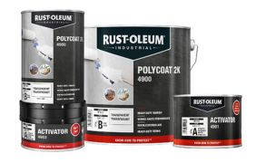 Rustoleum 4900 Polycoat 2K Heavy Duty Varnish
