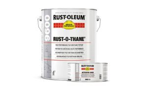 Rustoleum Rust-O-Thane 9600 Polyurethane PU Top Coat