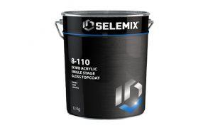 Selemix Aqua 8-110 2K Single Stage Gloss Topcoat