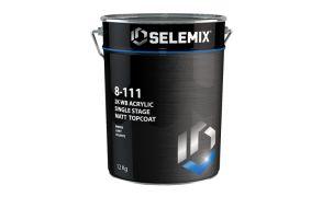 Selemix Aqua 8-111 2K Single Stage Matt Topcoat
