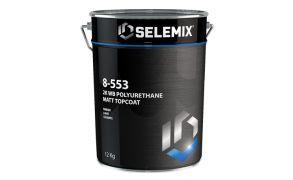 Selemix Aqua 8-553 2k Polyurethane Extra Topcoat