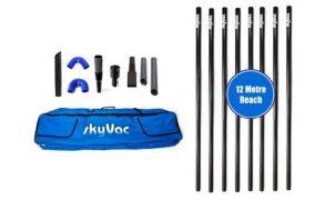 SKYVAC External Gutter Suction Poles Set